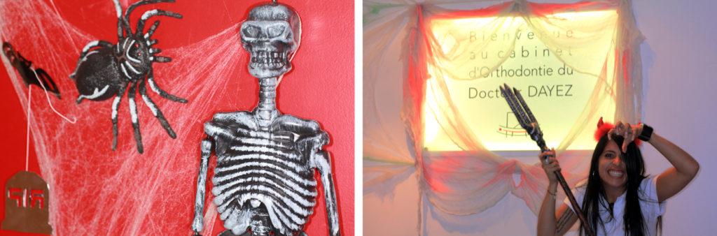 Halloween au Cabinet d'Orthodontie du docteur DAYEZ, à Brignoles