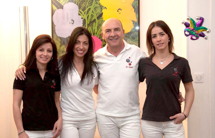Dr Dayez et sa Team